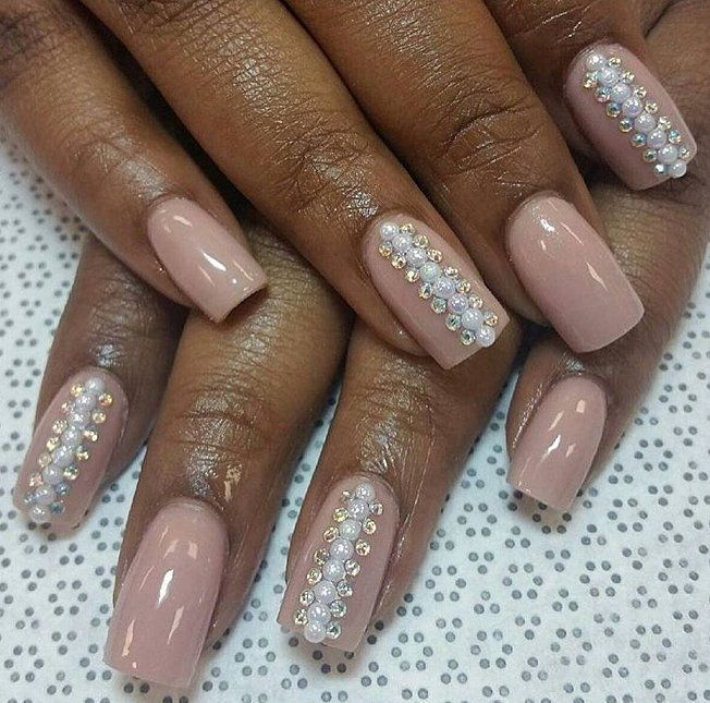 The 25 best pearl nail art ideas on pinterest chrome nail the 25 best pearl nail art ideas on pinterest chrome nail colors spring 2017 nails and almond nail art prinsesfo Images