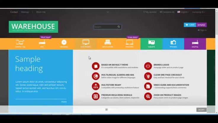 Warehouse - Responsive Prestashop 1.6 Theme
