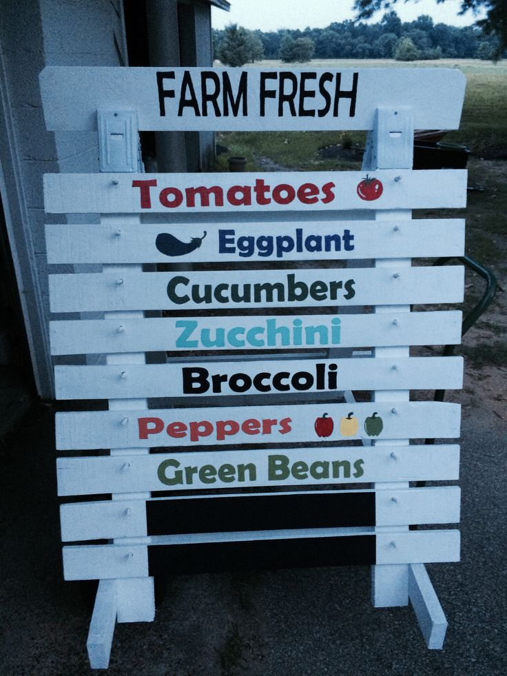 Roadside Farm Stand and Recycling