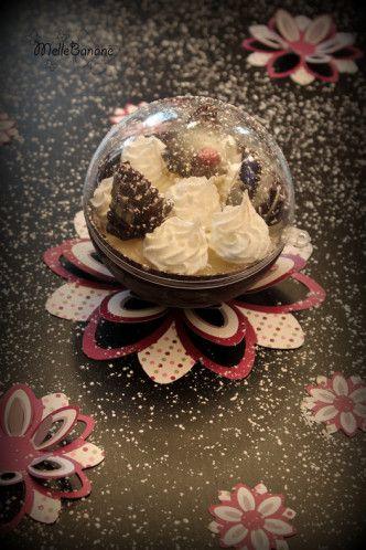 J'ai plein de recettes en stock avec les paniers gourmands et je ne sais pas avec quoi commencer ;) Je vous propose mon dessert du réveillon, vous pourrez vous en servir au nouvel an comme ça. Ce n'est pas une recette compliquée mais on joue tout sur...