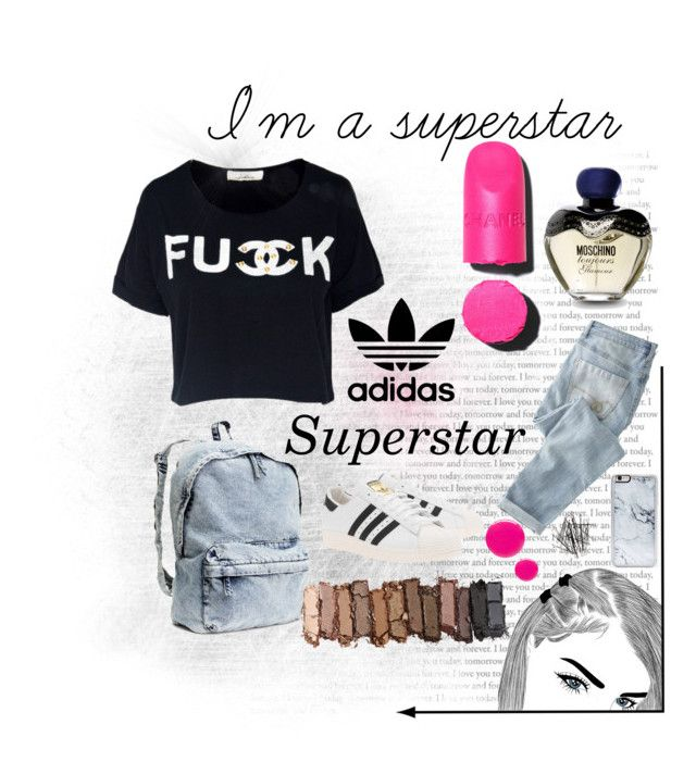 """n°19 I'm a superstar,Adidas Superstar 