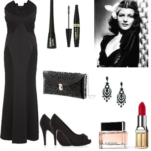 Old Hollywood Glamour Women 39 S Outfit Asos Fashion