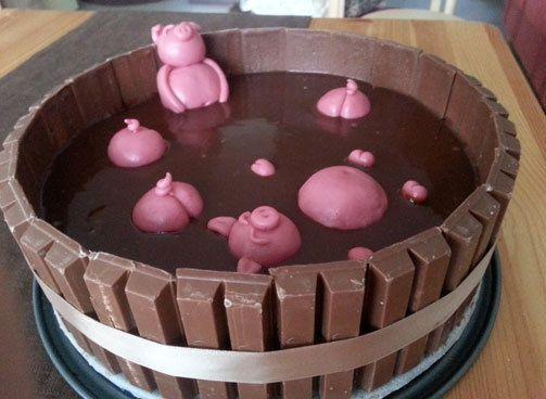 possukakku / chocolate cake
