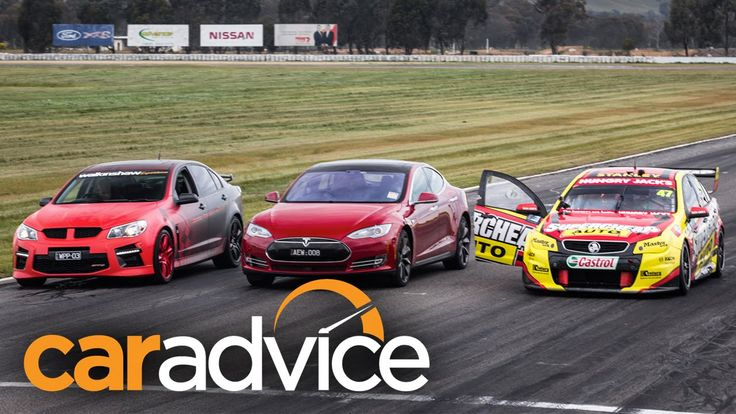 Drag-Race: Tesla Model S gegen australische V8-Power