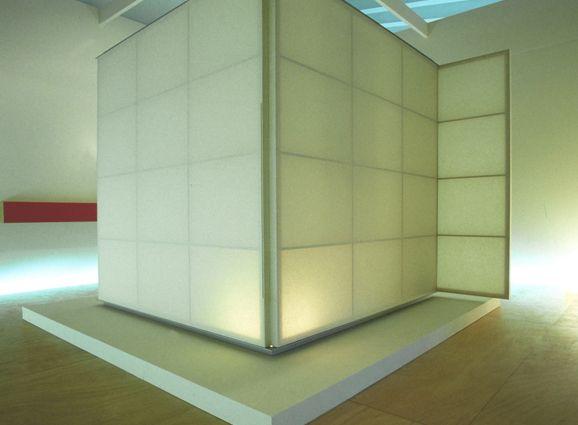 """tea ceremony room """"washi""""(Shigeru Uchida)"""