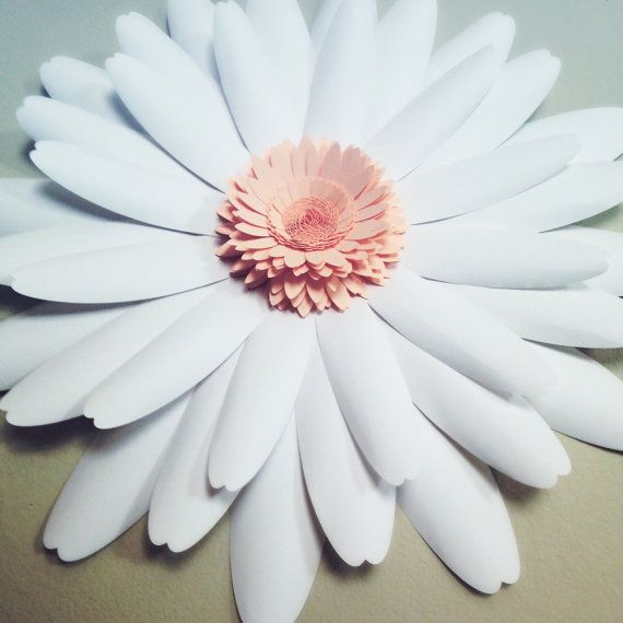 PAPER FLOWER: Zinnia 20 by TheBleuDahlia on Etsy