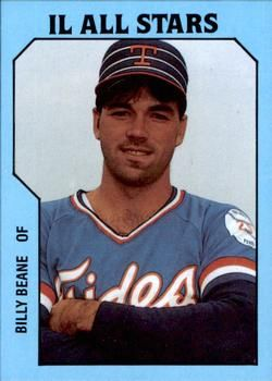 1985 TCMA International League All-Stars #7 Billy Beane Front