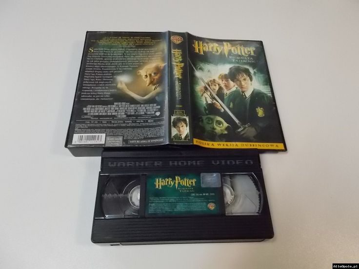 HARRY POTTER I KOMNATA TAJEMNIC - VHS Kaseta Video - Opole 1720 (Opole)