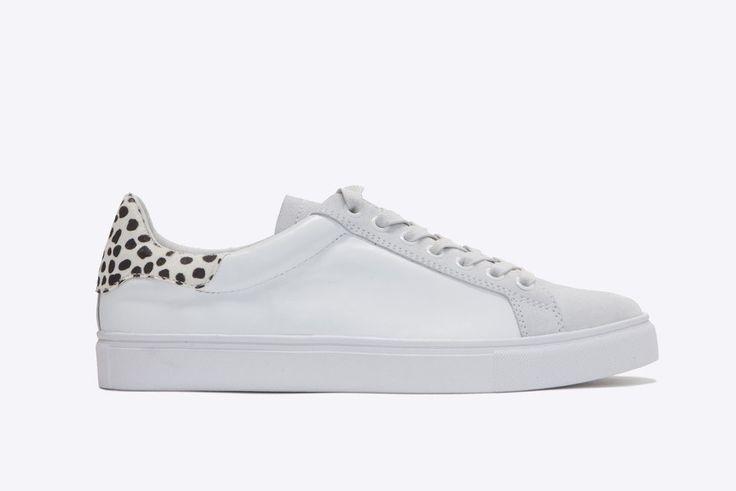 Dept. Of Finery - Dixie White Leopard Multi