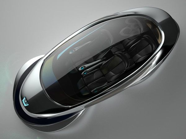 The MagLev Racer car of the future by Grey Design | a world of art ...