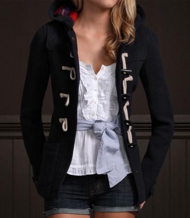 Hollister Calabasas Toggle Coat Wool Jacket - Google Search
