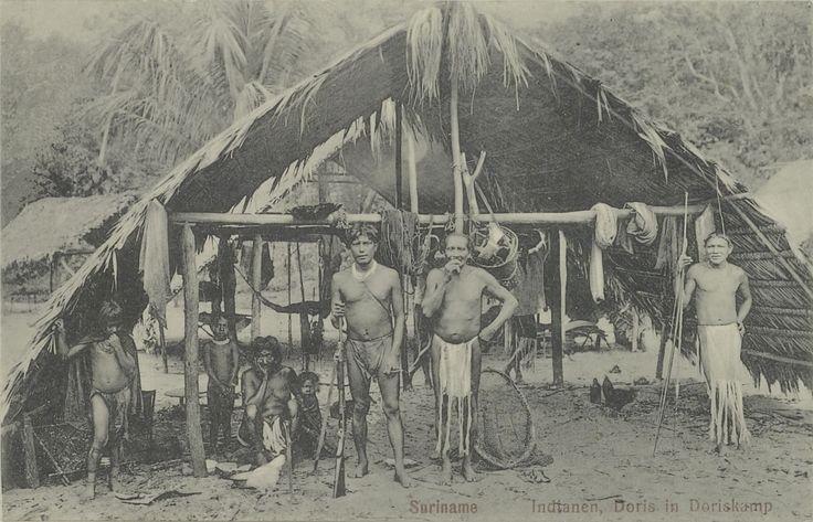 Geschiedenis van de Indianen van Suriname. Foto: site Het Geheugen van Nederland. klik voor info