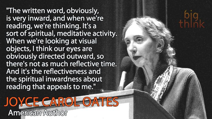 Joyce Carol Oates on the Intimate Joy of Reading