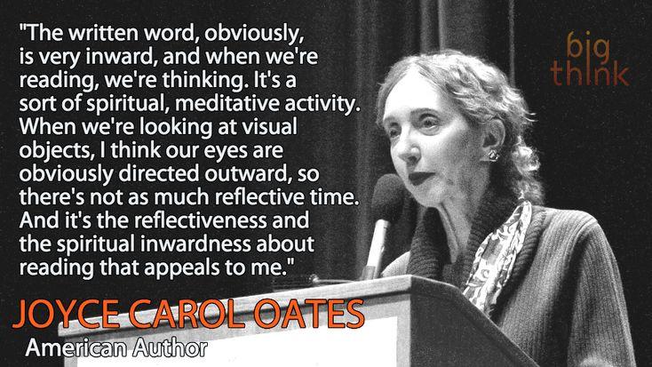 Joyce Carol Oates on the Intimate Joy of Reading