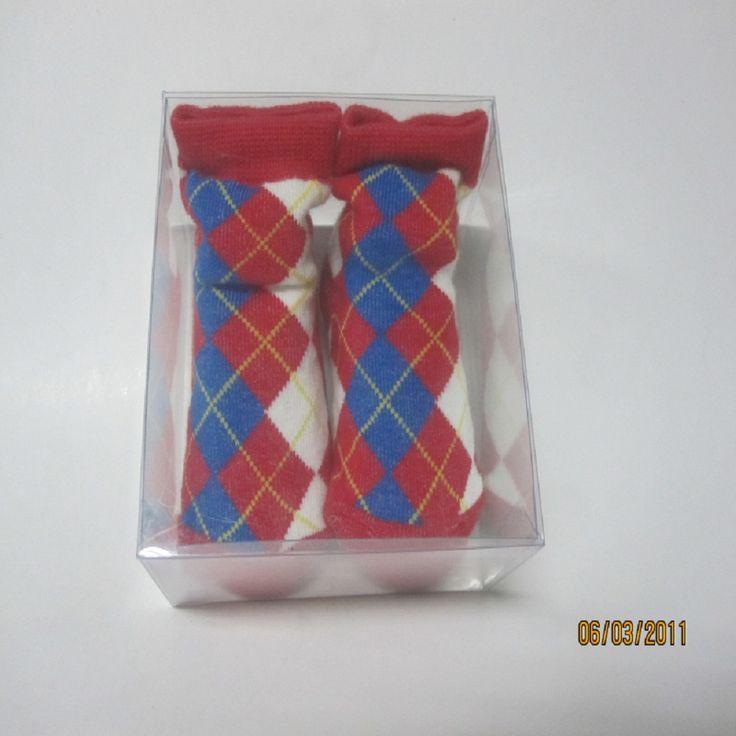 Custom clear PVC/PET/PP cheap socks packaging box from sendwell12345 on YYUber.com