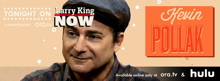 """The hilarious Kevin Pollak, star of """"The Usual Suspects"""" & """"Casino,"""" talks about sleeping his way - not to the top - but to the middle of Hollywood & performs his most famous impressions including Jack Nicholson, Christopher Walken and...Larry himself! Watch this full episode of #LarryKingNow on Ora TV & Hulu: http://on.ora.tv/S4BJrQ"""