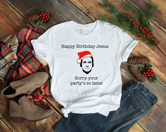 Download our christmas svg files for your christmas home decor and christmas crafts. The Office Christmas Happy Birthday Jesus Michael Scott Dunder Mifflin Netflix Santa Claus Shirt Happy Birthday Jesus Santa Claus Shirts Perfect Shirt