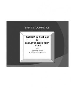 Backup or Pack up - Disaster Recovery Plan - Importance of Backup
