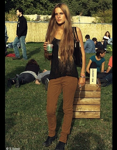 Léa, spotted @ We Love Green festival