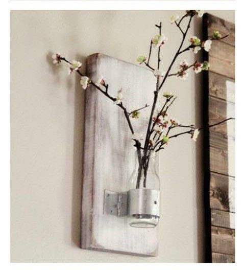 Up-cycled Wall Sconce (Set of 2) - Artizenbox