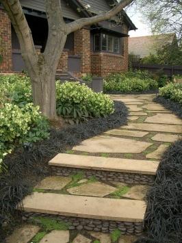 Eco Outdoor - Flooring - Crazy Paving - Almond