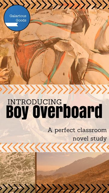 Galarious Goods: Introducing Boy Overboard. A great classroom novel by Morris Gleitzman