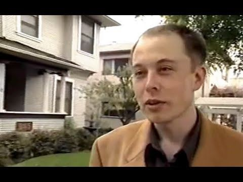 Young Elon Musk featured in documentary about millionaires (1999)  Before Paypal and Space X)
