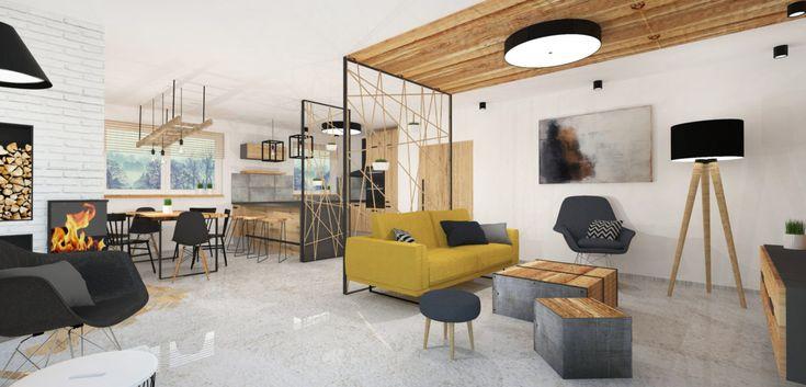 CHRASTAVA, House in a rustical and industrial style - https://interiordesign.io/chrastava-house-in-a-rustical-and-industrial-style/