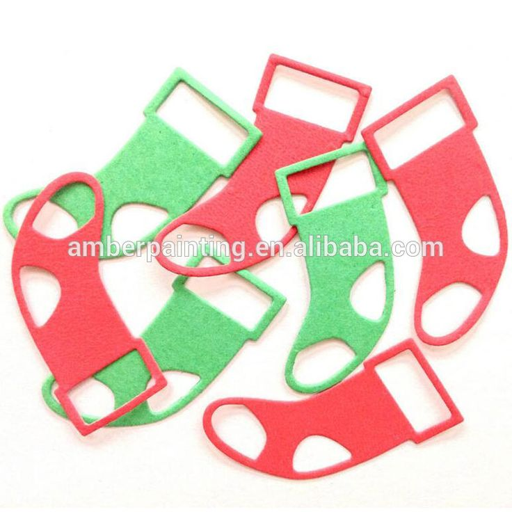 diy foam christmas ornament decoration toy holiday party die cut shapes