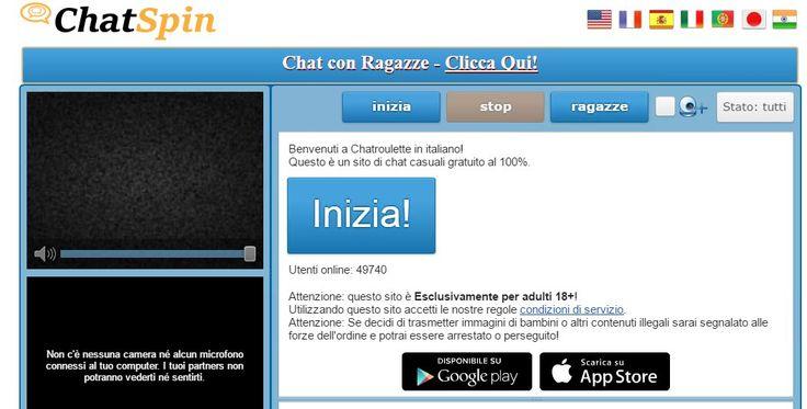 Chatroulette è dove si possono incontrare nuove persone e chattare a camma istantaneamente. Webcam chat con sconosciuti in tutto il mondo gratis! http://chatroulette.it/ #chatrouletteitaliana