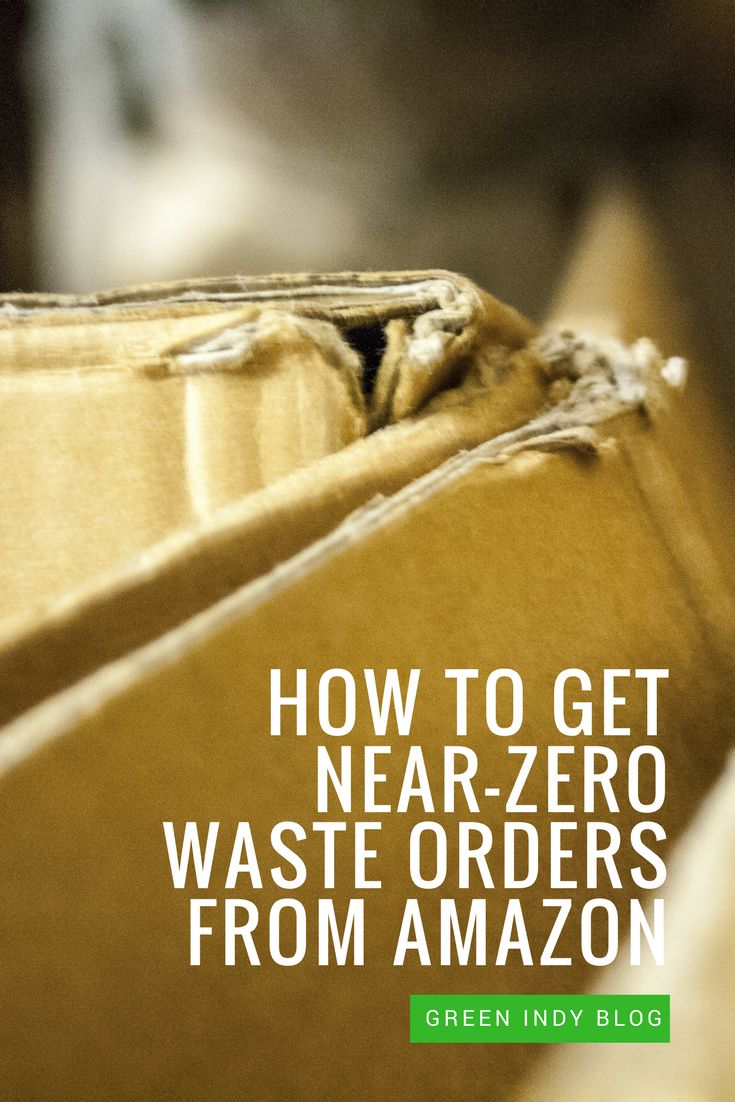 Zero waste orders from Amazon are kind of like unicorns: someone's seen them, but the rest of the world has some serious doubts.