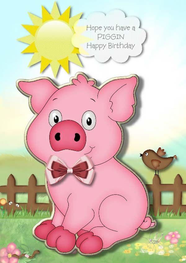 днём поздравления с днем рождения год свиньи молодых