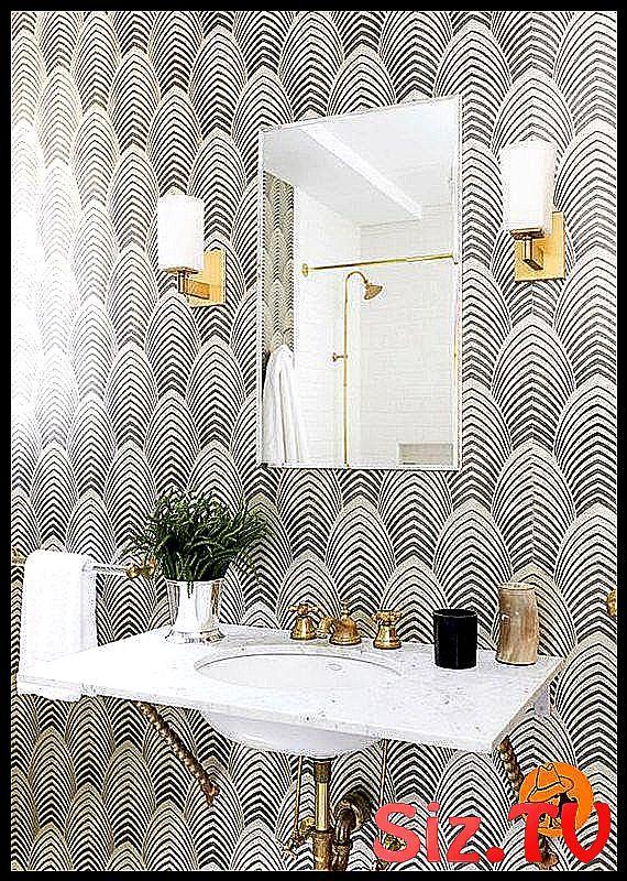 Removable Wallpaper Peel And Stick Wallpaper Self A104 Adhesive Art Deco Interior Wall Bathroom Wallpaper Modern Small Bathroom Wallpaper Modern Wallpaper