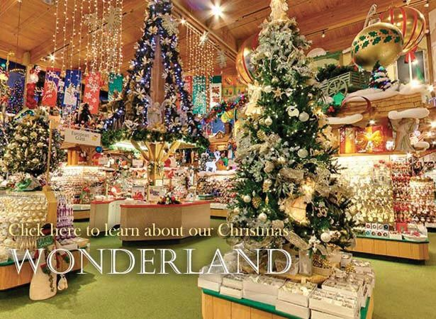 Bronner's CHRISTmas Wonderland Store in Frankenmuth, Michigan - world's largest Christmas store