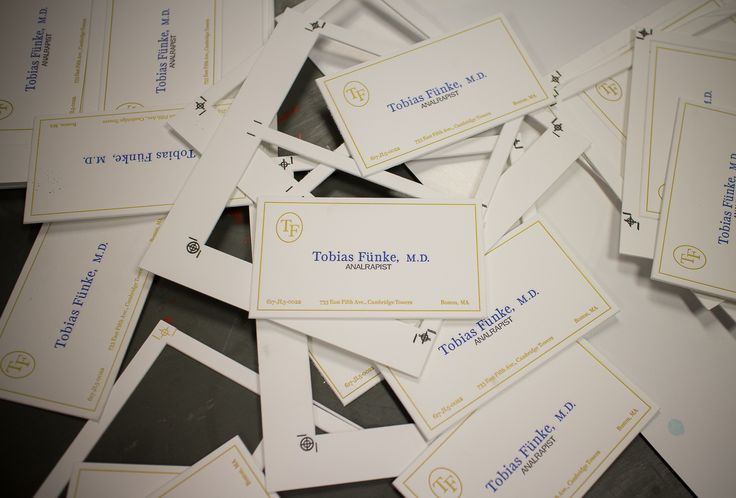 Mas de 10 ideas increibles sobre tobias funke en pinterest for Tobias business card