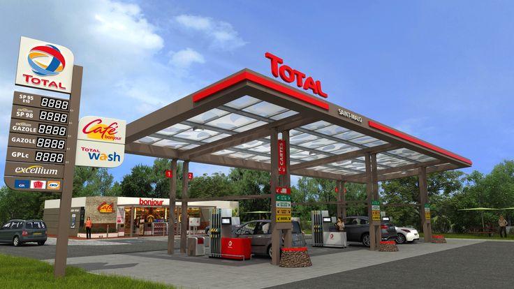 Total Gas Station Поиск в Google Gas Station Design