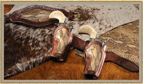Gun holsters designed by Kenda Lenseigne, available ...