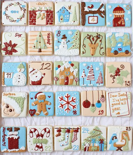 Christmas Advent Calendar 2012