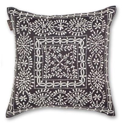 40x40cm Zaha cushion Charcoal