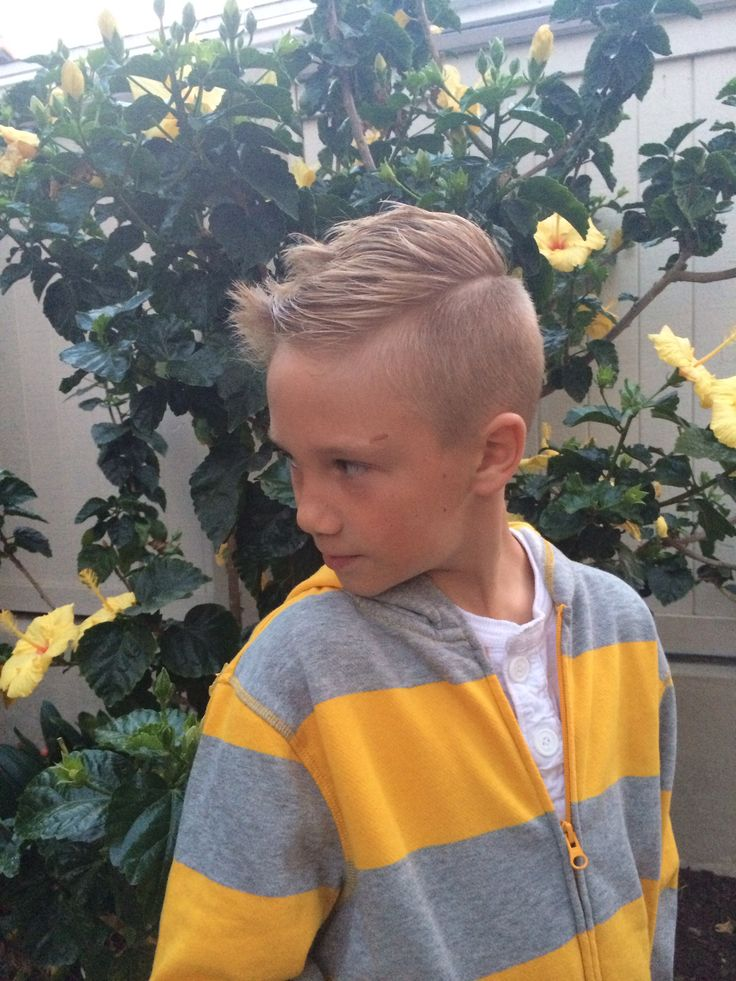 Boys Haircut. Disconnected Haircut. Young Boy Cut. Cut By