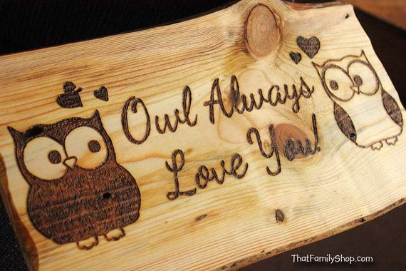 Owl Always Love You Sweethearts Gift Valentine's Day by HomenStead,