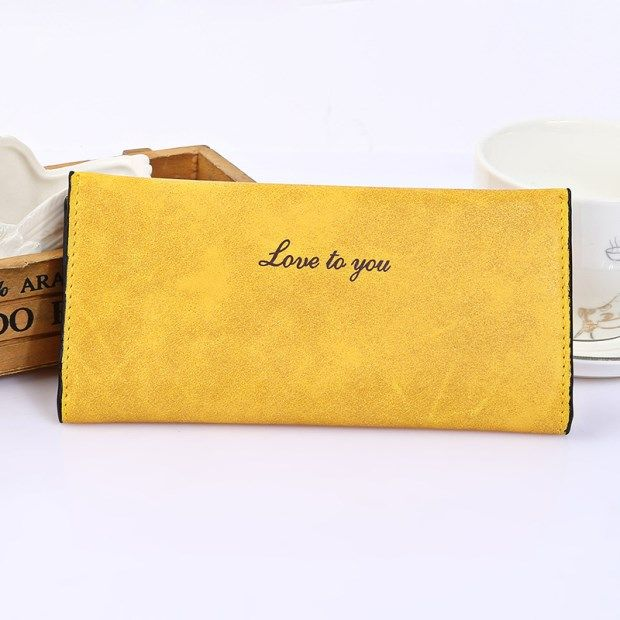 $5.64 (Buy here: https://alitems.com/g/1e8d114494ebda23ff8b16525dc3e8/?i=5&ulp=https%3A%2F%2Fwww.aliexpress.com%2Fitem%2FWomen-Wallets-2016New-Fashion-nubuck-leather-Purse-Simple-Style-Female-Long-Purses-Free-Shipping%2F32663413597.html ) Women Wallets 2016 New Fashion nubuck leather cheap Purse Simple Style Female credit card holders for just $5.64