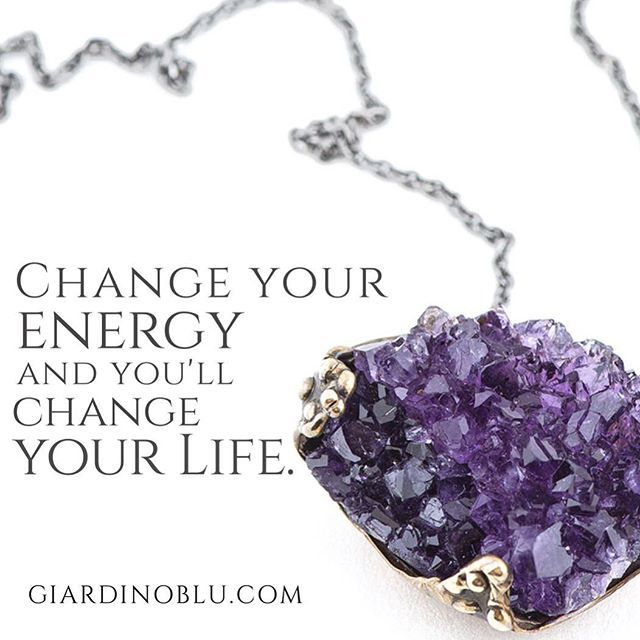 I know how challenging is, but if you can shift your energy, you can really change your own life. The world needs to see your gifts not your cages. Spiritual Quote on Energy and Changing in Life | Unique necklace with deep purple Raw Amethyst  Shop on giardinoblu.com (scheduled via http://www.tailwindapp.com?utm_source=pinterest&utm_medium=twpin&utm_content=post189485381&utm_campaign=scheduler_attribution)