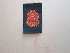 Manchester Woven Cloth Patch Badge Boy Scouts Scouting Guides