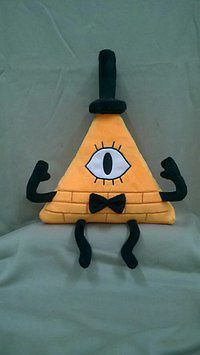 Gravity Falls Bill Cipher Plush Doll