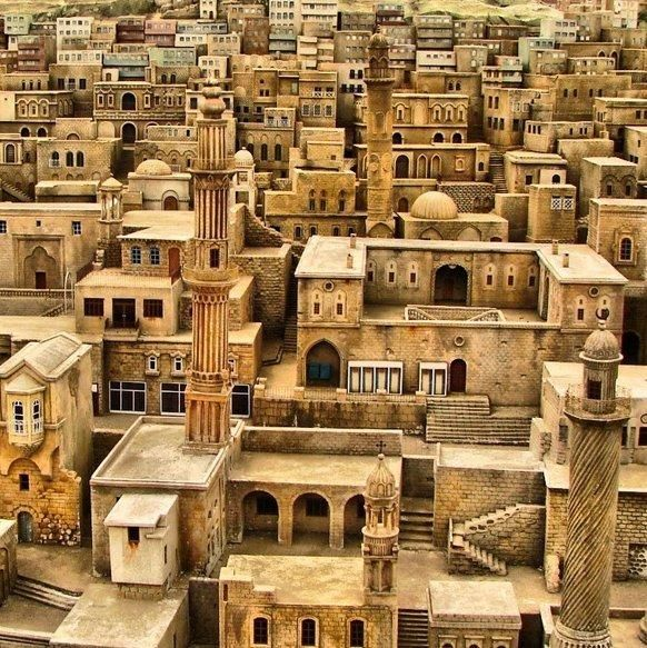 City of Mardin, Turkey .