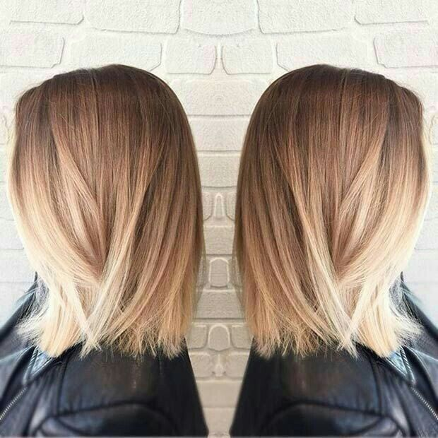 25 trending shoulder length ombre hair ideas on pinterest mediun hair length medium hair style blonde hair balayge ombre color more urmus Choice Image