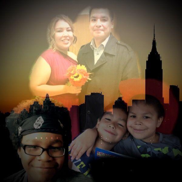 Photo App w/my daughter & grandsons