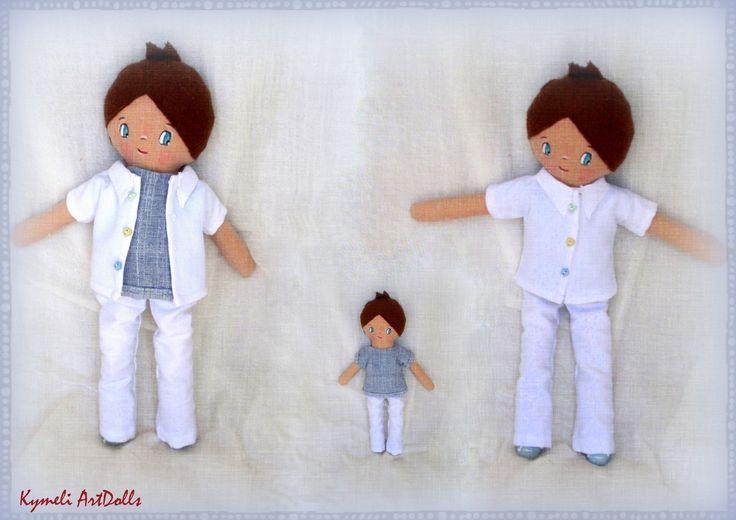 mini boy-doll for play - 30cm
