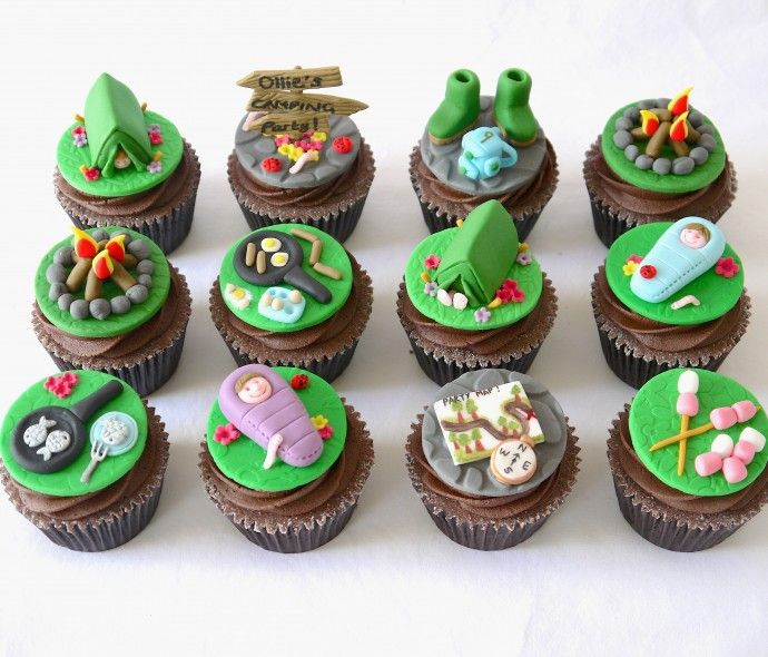 camping cakes - Google Search